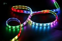 Ecola LED strip 220V STD  8,6W/m IP68 16x8 108Led/m RGB-S сегментированная разноцветная лента  50м.