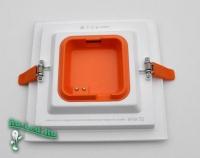 308SQ-12W-4000K Встраиваемый светодиодный светильник (Нейтральный свет)