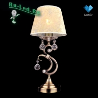 Настольная лампа 1448/1T античная бронза Strotskis настольная лампа
