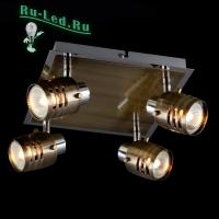 Потолочный светильник 23463/4 хром/античная бронза