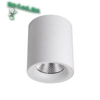 584 Светильник накладной,круглый,LED,30W(Нейтральный свет) корпус белый