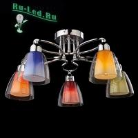 Потолочный светильник 30068/5 хром