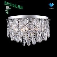 Люстра со светодиодной подсветкой 3322/6L хром Strotskis