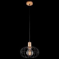 Подвесной светильник Eurosvet 50076/1 светлое дерево
