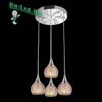 Потолочный светильник 50082/4 хром/белый