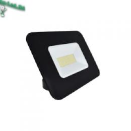 светодиодные прожектора 50w цена значительно снижена в интернет-магазине Mr. Volt. Ecola Projector LED 50,0W 220V 6000K IP65 Светодиодный Прожектор тонкий Черный 234x174x44