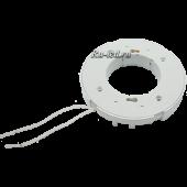 Ecola base GX70 патрон с проводами 2*15cm с проходными контактами (быстрый монтаж), 1 из уп. 120 шт.