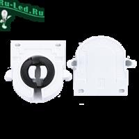 Ecola base G13 патрон торцевой поворотный с защелками (1 из уп. по  50)