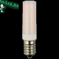 Ecola T25 LED Micro  1,0W E14 Flame имитация пламени 64x16 mm