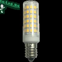 Ecola T25 LED Micro 10.0W E14 2700K 340° кукуруза (для холодил., шв. машинки и т.д.) 65x18 mm