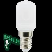 Ecola T25 LED Micro 4,5W E14 4000K капсульная 340° матовая (для холодил., шв. машинки и т.д.) 60x22 mm