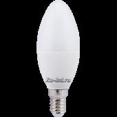 Ecola candle   LED  7,0W 220V E14 4000K свеча (композит) 110x37