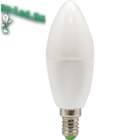 Ecola candle   LED Premium  7,0W 220V E14 6000K свеча (композит) 105x37