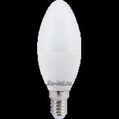 Ecola candle   LED Premium  7,0W 220V E14 4000K свеча (композит) 110x37