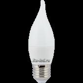 Ecola candle   LED Premium  7,0W 220V E27 4000K свеча на ветру (композит) 120x37