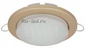 Ecola GX53 DGX5315 Встраиваемый Легкий Золото (светильник) 18x100