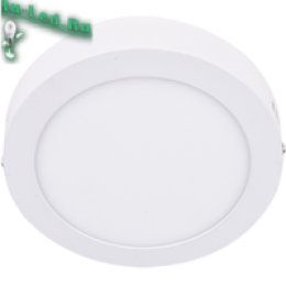 Светодиодные потолочные светильники 220в для обеспечения полноценного освещения в просторном помещении Ecola LED downlight накладной Круглый даунлайт с драйвером 12W 220V 4200K 170x32