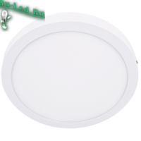 Ecola LED downlight накладной Круглый даунлайт с драйвером 24W 220V 4200K 300x32