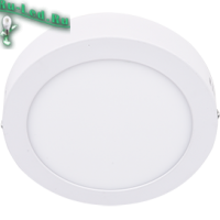 Ecola LED downlight накладной Круглый даунлайт с драйвером  6W 220V 6500K 120x32