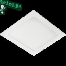 светильники квадратной формы это отличный способ сменить обстановку дома в лучшую сторону Ecola LED downlight встраив. Квадратный даунлайт с драйвером 18W 220V 2700K 225x225x20