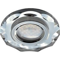 Ecola MR16 DL1653 GU5.3 Glass Стекло Круг с вогнутыми гранями Хром / Хром 25x90 (кd74)