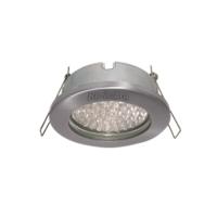 Ecola MR16 DL80 GU5.3 светильник встр. защищенный IP65 хром 32x93