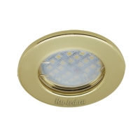 Ecola Light MR16 DL90 GU5.3 Светильник встр. плоский Золото 30x80 - 2pack (кd74)