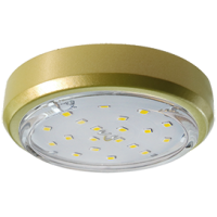 Ecola GX53 5356 Накладной Легкий Золото (светильник) 18x95