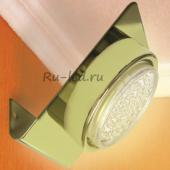 Ecola GX53-N82 светильник настенный угловой золото 52*130*111