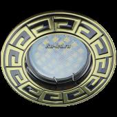 Ecola MR16 DL110А GU5.3 Светильник встр. литой Антик Черный Хром/Золото 24x86 (кd74)