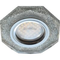 Ecola MR16 DL1652 GU5.3 Glass Стекло 8-угольник с прямыми гранями Серебряный блеск / Хром 25x90 (кd74)