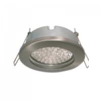 Ecola MR16 DL80 GU5.3 светильник встр. защищенный IP65 сатин-хром 32x93