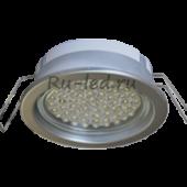 Ecola GX53 PD Светильник Встраиваемый глубокий легкий Серебро 31x95