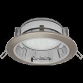 Ecola GX70-H6R светильник сатин-хром встр. с рефл.  65x171