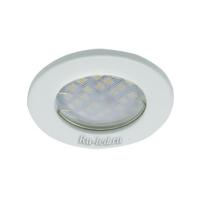 Ecola Light MR16 DL90 GU5.3 Светильник встр. плоский Белый 30x80 - 2pack (кd74)