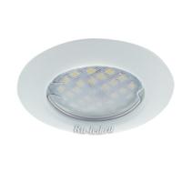 Ecola Light MR16 DL92 GU5.3 Светильник встр. выпуклый Белый 30x80 - 2pack (кd74)