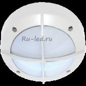 Ecola GX53 LED B4143S светильник накладной IP65 матовый Круг с решеткой алюмин. 1*GX53 Белый 145x145x65