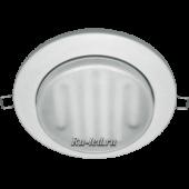 Ecola GX70-H8 SL светильник встраив. легкий без рефл. Белый  24x155