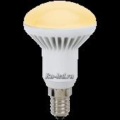 Ecola Reflector R50   LED Premium  7,0W 220V E14 золотистый (ребристый алюм. радиатор) 85x50