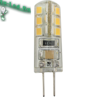 Ecola G4  LED  3,0W Corn Micro 220V 2800K 320° 40x15