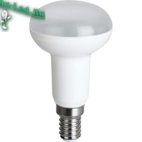 Ecola Reflector R50   LED  8,0W  220V E14 4200K (композит) 87x50
