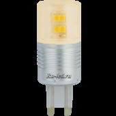 Ecola G9  LED Premium  4,1W Corn Mini 220V золотистый 300° (алюм. радиатор) 65x23