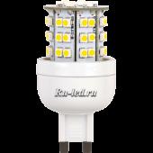 Ecola G9  LED Premium  3,6W  220V 4000K 300° 64x32