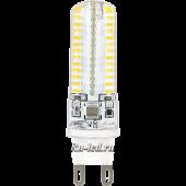 G9  LED  6,0W Corn Micro 220V 2800K 320° 59x15