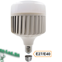 Ecola High Power LED Premium 150W 220V универс. E27/E40 (лампа) 6000K 260х180mm