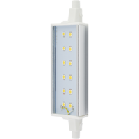 Ecola Projector   LED Lamp Premium 14,0W F118 220V R7s 6500K (алюм. радиатор) 118x20x32