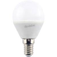 Ecola globe   LED  8,0W G45  220V E14 4000K шар (композит) 78x45