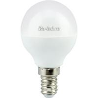 Ecola globe   LED  7,0W G45  220V E14 2700K шар (композит) 77x45