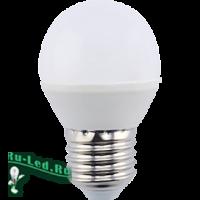 Ecola globe   LED  8,0W G45  220V E27 6000K шар (композит) 78x45