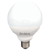 Ecola globe   LED Premium 15,5W G95 220V E27 4000K шар (композит) 135x95